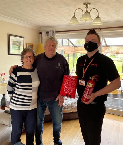 Rancom Fire Alarm Saves Lives